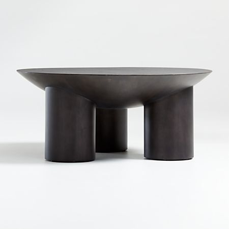 Tom Charcoal Three Legged Coffee Table