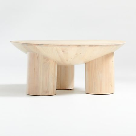 Tom Natural Three Legged Coffee Table