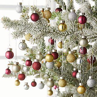 tonal goldwine mini ball ornaments set of 100 - Christmas Tree Ornaments Sets