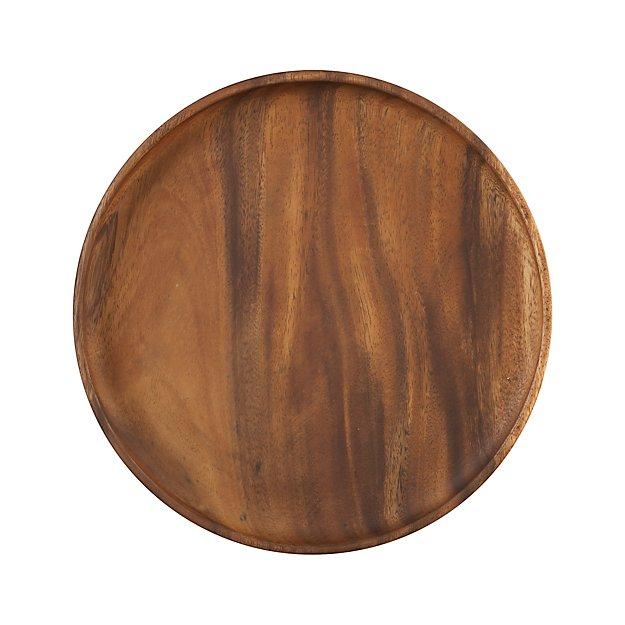 Tondo Wooden Platter Reviews Crate And Barrel