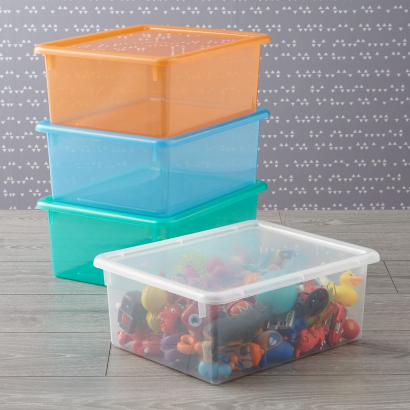 Kids Storage Containers Kids Colorful See Through