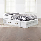 Topside Storage Kids Bed White Crate and Barrel