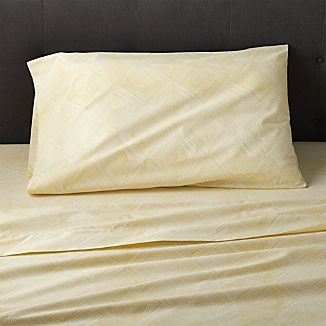Torben Yellow Twin Sheet Set
