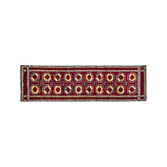 Torra Red Persian-Style Rug 2.5'x9'