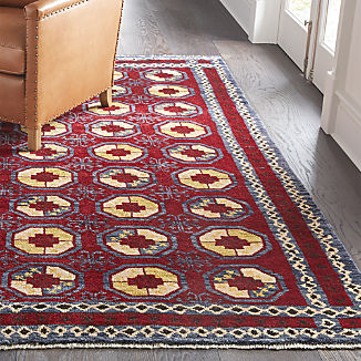 Torra Red Persian-Style Rug