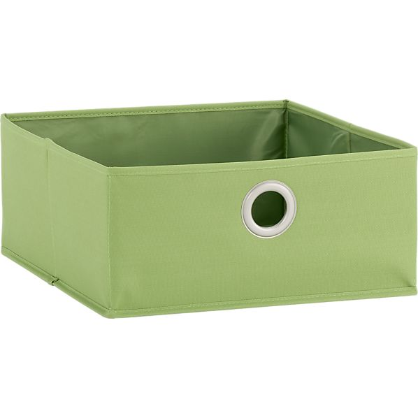 Low Green Tote with Grommet