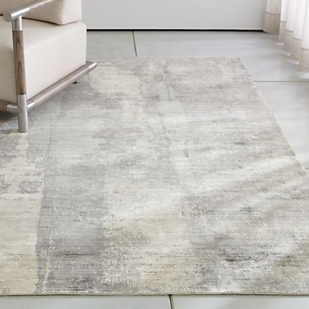 Tottori Grey Abstract Rug Crate And
