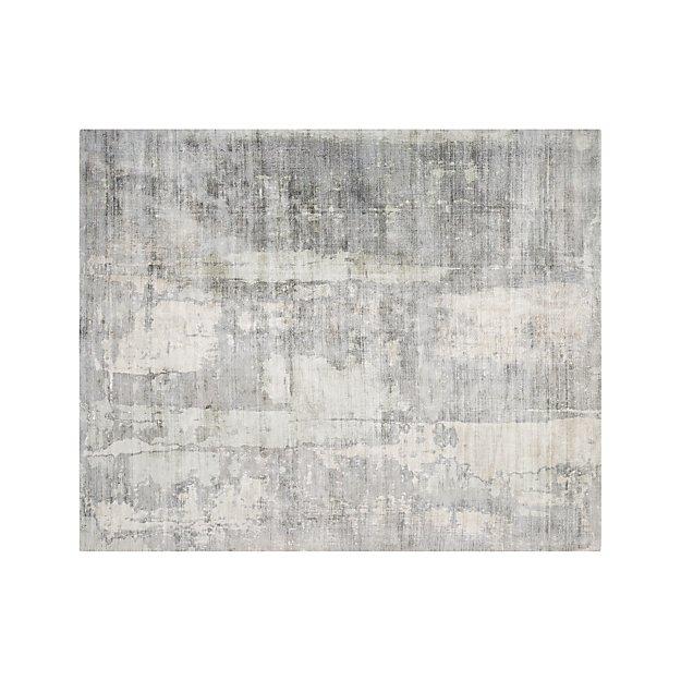 Tottori Grey Abstract Rug 8'x10' - Image 1 of 7