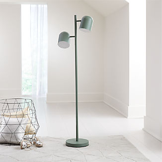 Green Touch Floor Lamp