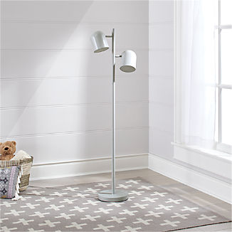 Gray Touch Floor Lamp