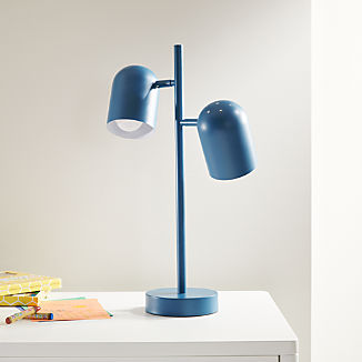 Blue Touch Table Lamp
