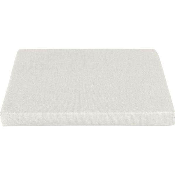 Toulon Sunbrella ® White Sand Dining Chair Cushion
