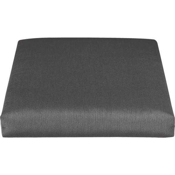 Toulon Sunbrella ® Charcoal Lounge Chair Cushion