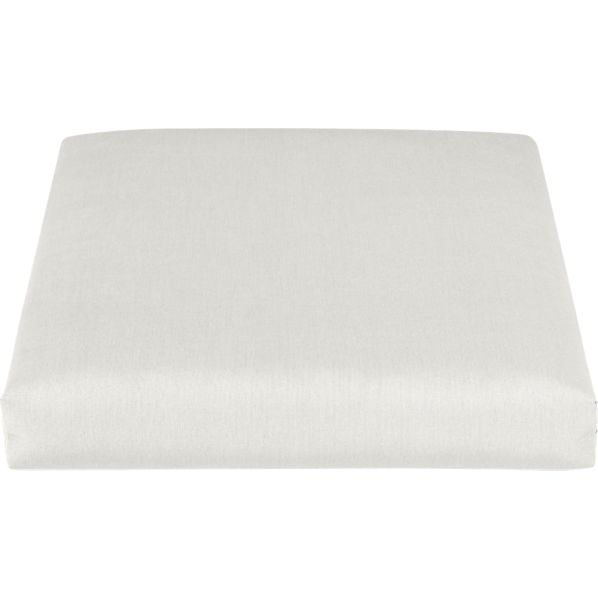 Toulon Sunbrella ® White Sand Lounge Chair Cushion