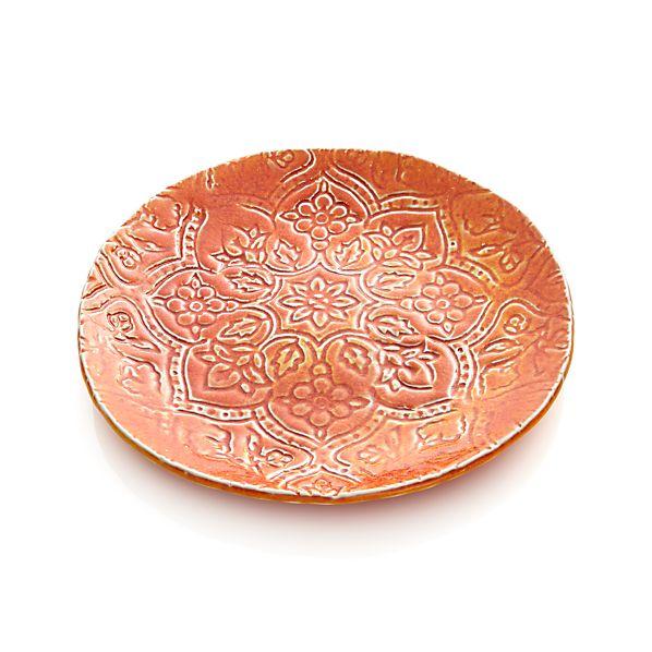 "Jars Toulouse Orange 9.5"" Plate"