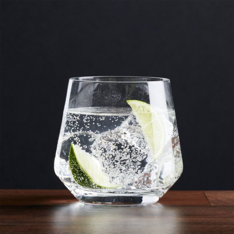 A new angle in barware from Schott Zwiesel creates an edgy silhouette with exquisite brilliance and clarity. Made of break-, chip- and scratch-resistant Tritan glass, each glass exhibits the same exquisite brilliance and clarity as hand-blown crystal.<br /><br /><NEWTAG/><ul><li>Tritan® glass</li><li>12 oz.</li><li>By Schott Zweisel</li><li>Hand wash</li><li>Made in Germany</li></ul>
