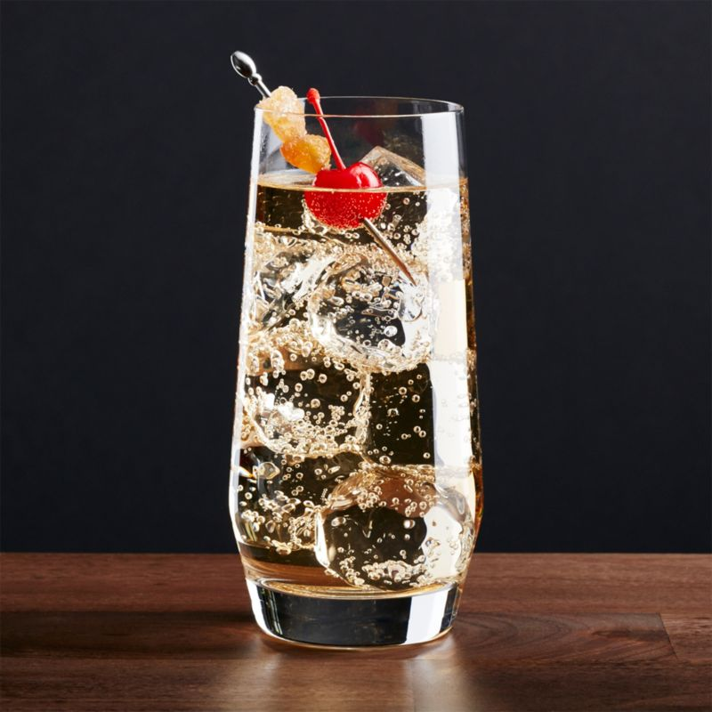 A new angle in barware from Schott Zwiesel creates an edgy silhouette with exquisite brilliance and clarity. Made of break-, chip- and scratch-resistant Tritan glass, each glass exhibits the same exquisite brilliance and clarity as hand-blown crystal.<br /><br /><NEWTAG/><ul><li>Tritan® glass</li><li>18 oz.</li><li>By Schott Zweisel</li><li>Hand wash</li><li>Made in Germany</li></ul>
