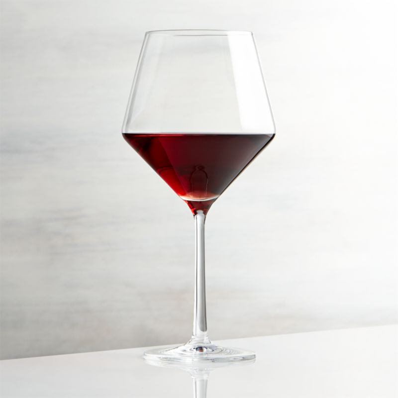 A new angle in stemware from Schott Zwiesel creates an edgy silhouette with exquisite brilliance and clarity. Made of break-, chip- and scratch-resistant Tritan glass, each wine glass exhibits the same exquisite brilliance and clarity as hand-blown crystal.<br /><br /><NEWTAG/><ul><li>Tritan® glass</li><li>24 oz.</li><li>By Schott Zweisel</li><li>Dishwasher-safe</li><li>Made in Germany</li></ul>