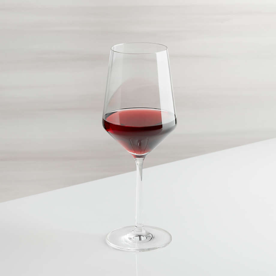 Tour 18 Oz Red Wine Glass Reviews Crate And Barrel