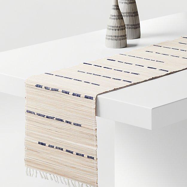 "Toyo 90"" Fiber Table Runner - Image 1 of 2"