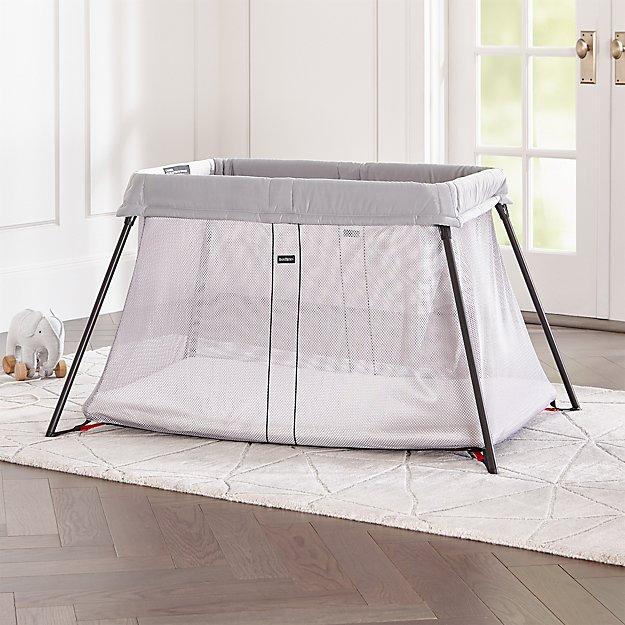 26dcdfa30d7 BABYBJORN Silver Travel Crib Light + Reviews