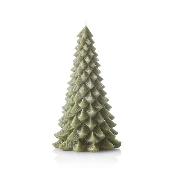 TreeCandle8inGreenF17