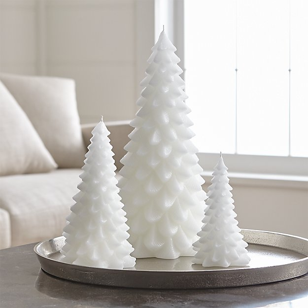 White Tree Candle - Image 1 of 6
