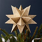 Moravian Gold Star Tree Topper