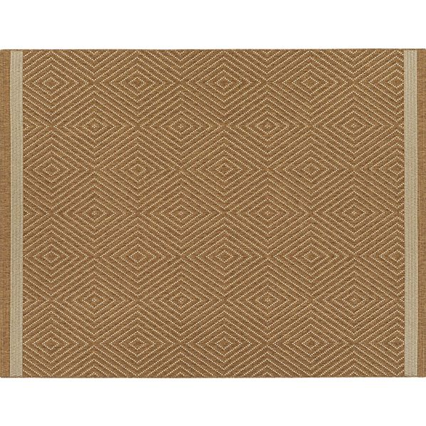 Trellis Natural Indoor-Outdoor 9x12' Rug