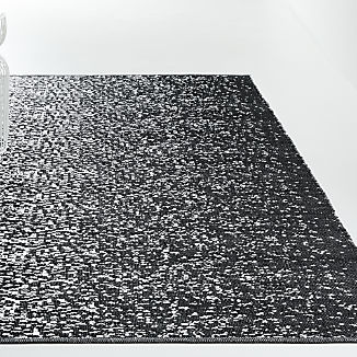 Tresello Black Indoor/Outdoor Rug