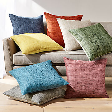 Remarkable Throw Pillows Decorative And Accent Crate And Barrel Uwap Interior Chair Design Uwaporg
