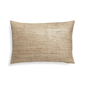 """Trevino Almond 15""""x22"""" Pillow Cover"""