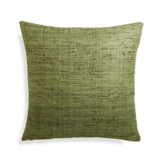 "Trevino Bronze Green 20"" Pillow Cover"