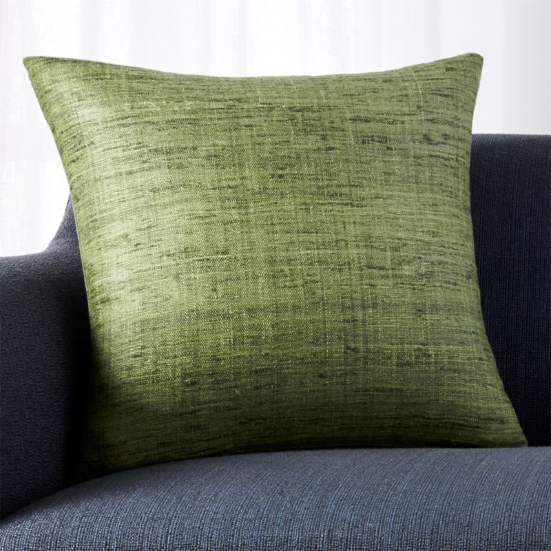Pottery Barn Throw Pillow Green : Olive Green Throw Pillow Crate and Barrel