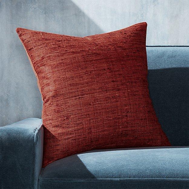 "Trevino Cinnabar Pillow 20"" - Image 1 of 5"