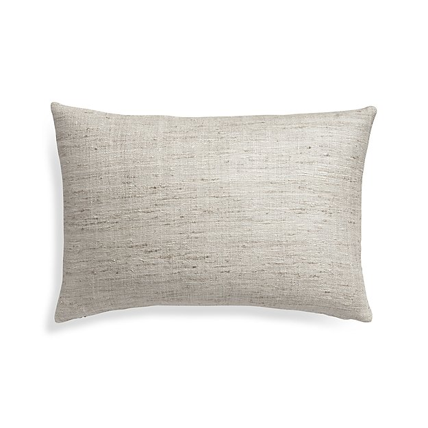 """Trevino Alloy 15""""x22"""" Pillow Cover"""