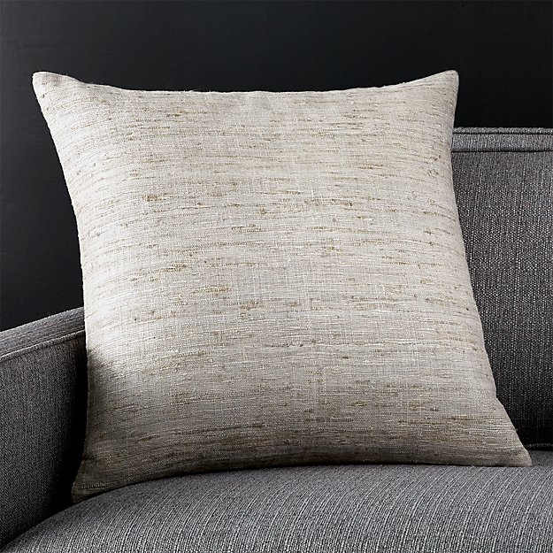 """Trevino Alloy 20"""" Pillow with Feather-Down Insert"""