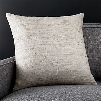 "Trevino Alloy 20"" Pillow with Down-Alternative Insert"