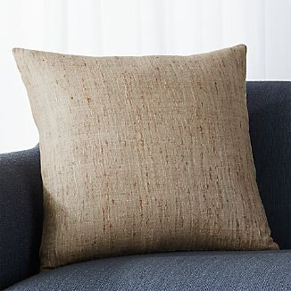 "Trevino Almond 20"" Pillow with Down-Alternative Insert"