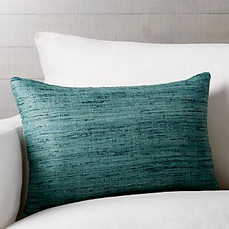 "Trevino Arctic 15""x22"" Pillow with Down-Alternative Insert"