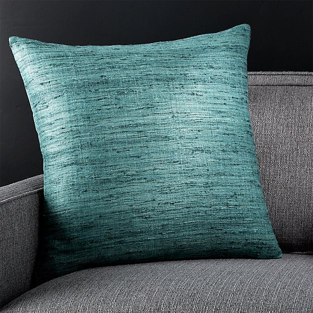 """Trevino Arctic 20"""" Pillow with Down-Alternative Insert"""
