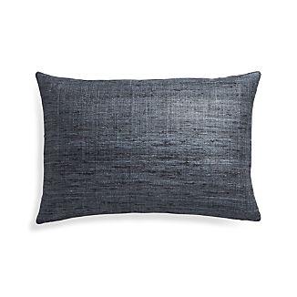 """Trevino Graphite 15""""x22"""" Pillow Cover"""