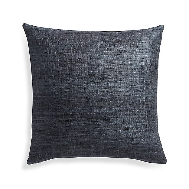 "Trevino Graphite 20"" Pillow Cover"