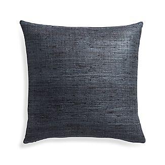 """Trevino Graphite 20"""" Pillow Cover"""