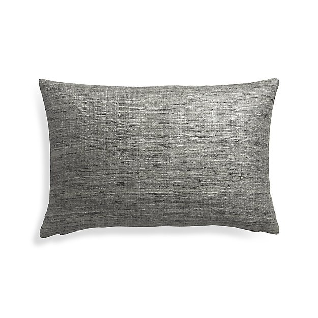 "Trevino Nickel 22""x15"" Pillow Cover"