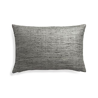 """Trevino Nickel 22""""x15"""" Pillow Cover"""