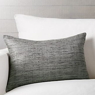 Grey Decorative Pillows Crate And Barrel