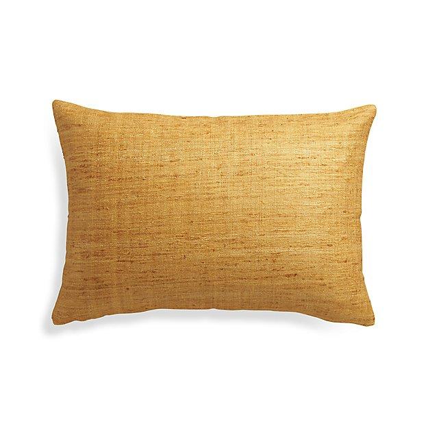 "Trevino Sunflower Yellow 22""x15"" Pillow Cover"