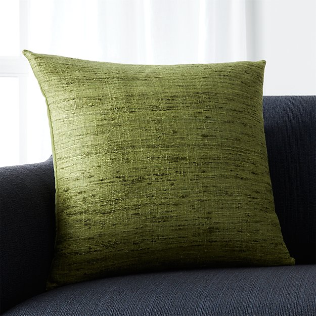 "Trevino Chive Green 20"" Pillow"