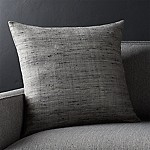 Trevino Nickel Grey 20 l Pillow with Feather-Down Insert